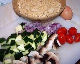 Vegetarian Cooking for One: Cheap Food: Healthy Food: Cheap and Healthy Veggie Recipe: Vegetarian Egg Fr...