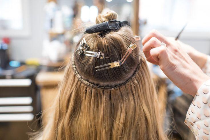 Extensions De Cheveux Avant Et Apres Attaches A La Main Apres Attaches Avant Cheveux Extensions Haarverlangerung Luxy Hair Hochsteckfrisuren Lange Haare