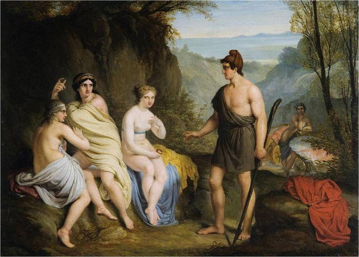 Paridův soud (Judgement of Paris) - Austrian school