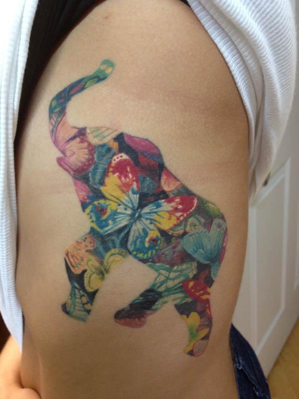 206 best images about elephants tattoo on pinterest david hale colorful elephant and henna. Black Bedroom Furniture Sets. Home Design Ideas