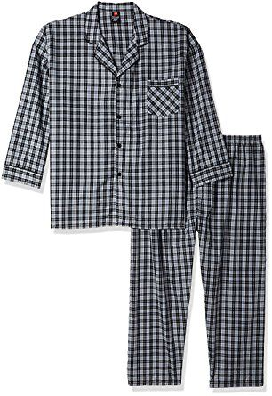 f4f317826392 Hanes Men s Big Woven Plain-Weave Pajama Set Review