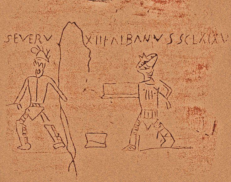 Pompeii, Gladiatoren, AE 1914