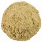 Asafoetida --- gemalen mengsel van asafoetida (hars) en fenegriek (gemalen zaad). Ongekookt geeft het een wrange geur, gekookt een uniek mild knoflookaroma. --- Gebruik asafoetida spaarzaam om een unieke smaak te geven aan vis, gegrild vlees en aan de meeste groenten. Erg geschikt bij gedroogde peulen en groenten.  Recepten: Sambar, Linzen met asafoetida