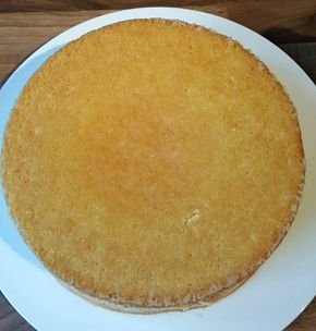 luchtige taart biscuitdeeg kapsel recept