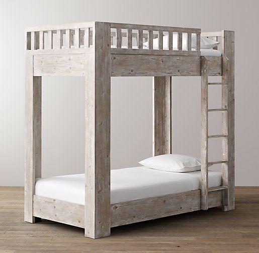 Best Callum Platform Twin Over Twin Bunk Bed All Beds 400 x 300