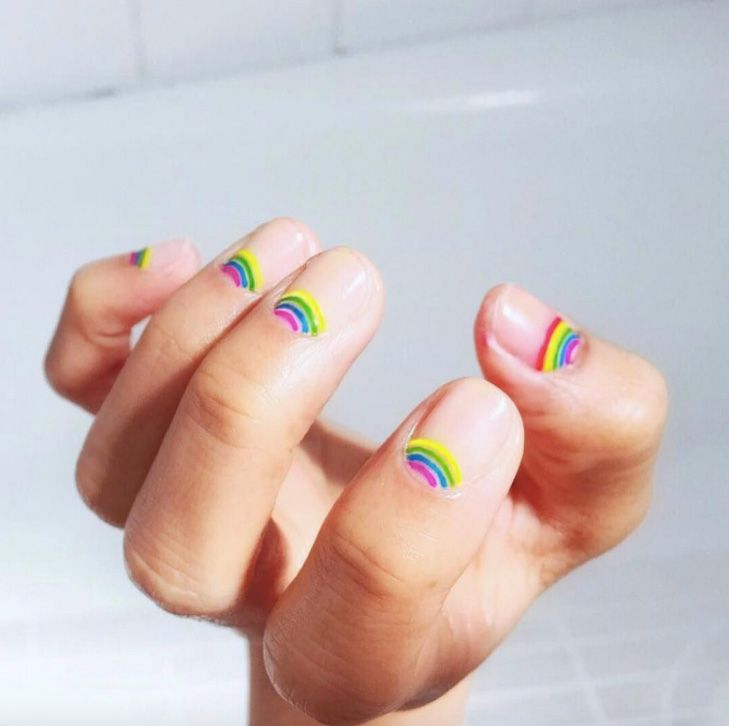 Instagram's Most Epic Rainbow Beauty Looks: We gathered some of our all-t…