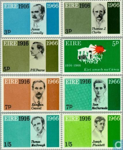 Postage Stamps - Ireland - Easter Rising 1916-1966 (IER 64)