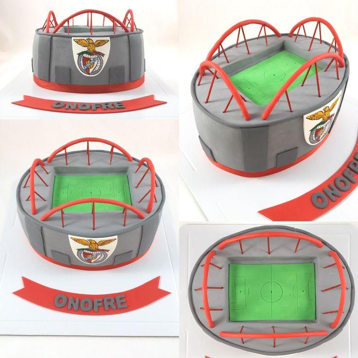 Estádio do Benfica bolo