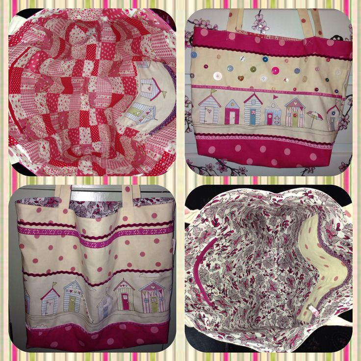Handmade beach bags by Oh Sew Maeve  Ohsewmaeve@gmail.com