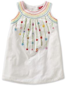 Would love to try this.Dille Dress Embroidered White van Oilily kinderkleding