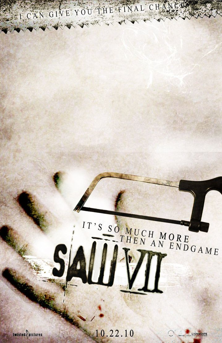 SAW VII (2010) So tense.