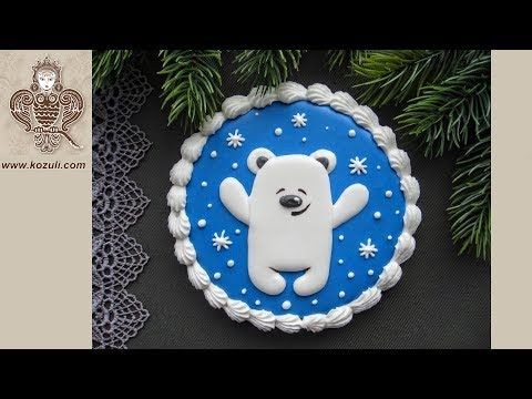 How To Decorate A Teddy Bear Cake With Royal Icing