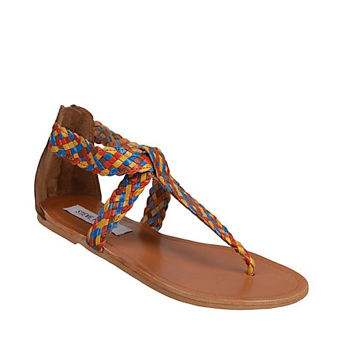 Pressto - Strap Flat Sandals by Steve Madden