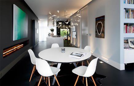 Herenhuis met moderne interieur