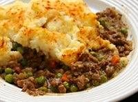 Cottage Pie - This easy casserole is made with leftover roast beef and mashed potatoes. If you don't have leftover mashed potatoes, make your favorite mashed potatoes, using about 1 1/2 to 2 pounds of potatoes.