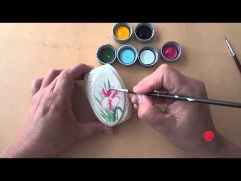 Orquídea em sabonete (Aula 9) - YouTube