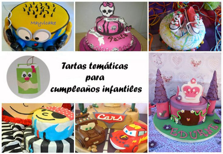 Tartas tem ticas de fondant para cumplea os infantiles - Preparacion de cumpleanos infantiles ...