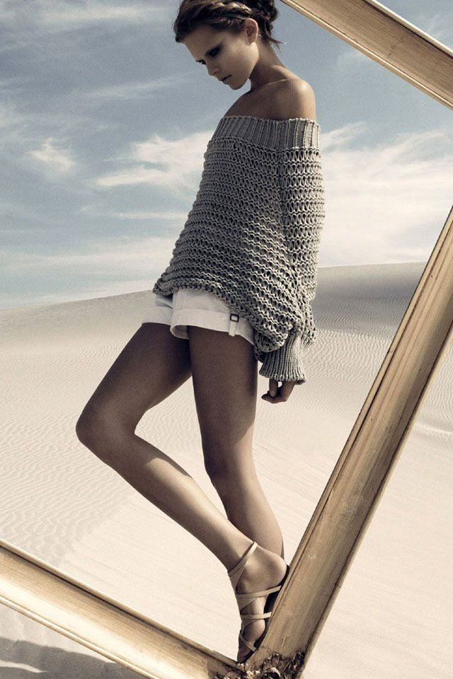 .: At The Beaches, White Shorts, Comfy Sweaters, Style, Frames, Chunky Sweaters, Inspiration Photography, Grey Sweaters, Knits Sweaters
