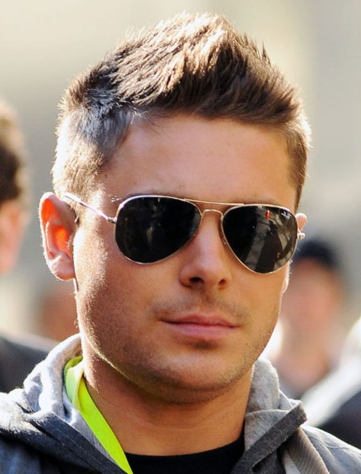 Zack Efron with a faux hawk. Check out 12 other different types of haircuts.