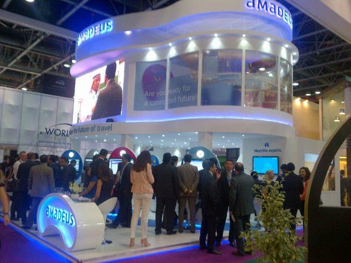 Behind the scenes at the Amadeus ATM Dubai exhibit