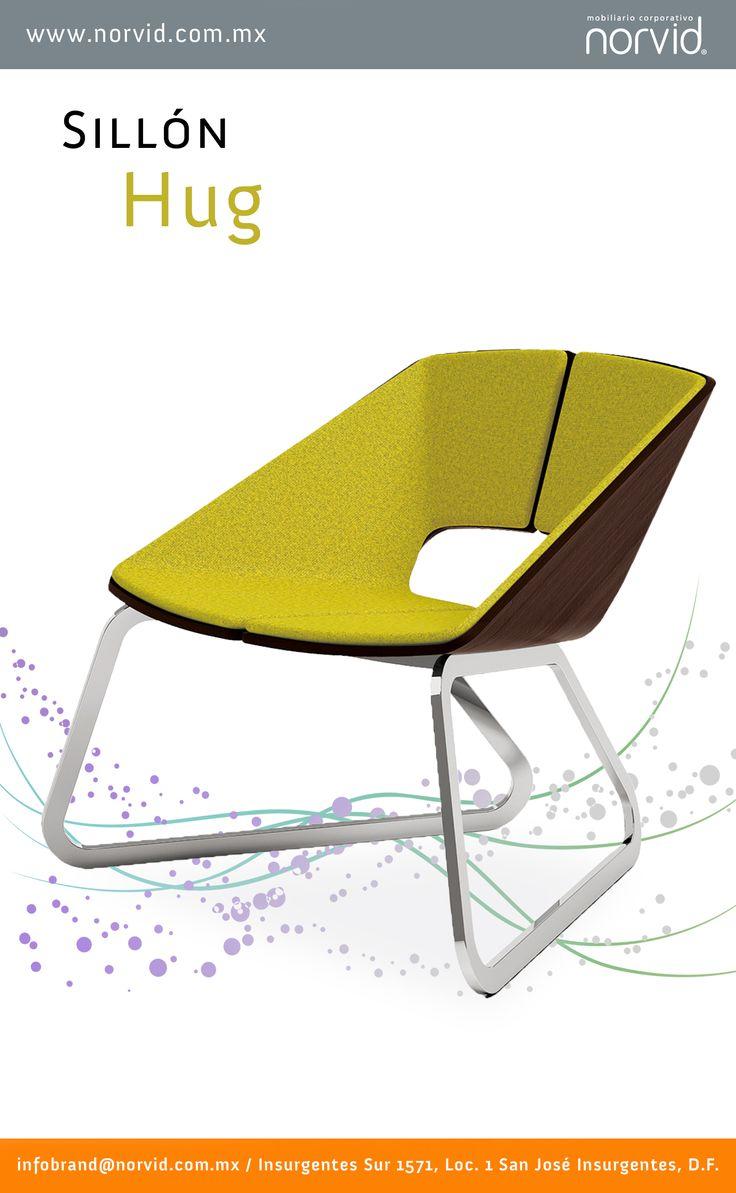 #Silleria #Diseño #diseno #muebles #Silla #Comodidad #norvid #interiorismo #Sillon #Cromada #Hug #Diseñador#Disenador  Les presentamos el sillón #Hug, es un sillón con carcaza en madera contrachapada de fresno, equipado con panel frontal tapizado en piel, piel sintética o tela; con base de trineo de tubo rectangular. Está disponible para una o dos plazas.  Más info #PROXIMAMENTE en nuestra sección de sillas de  #diseñador  www.norvid.com.mx