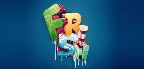 33 Creative Photoshop Tutorials Text Effects for Beginners and Advanced - You The Designer