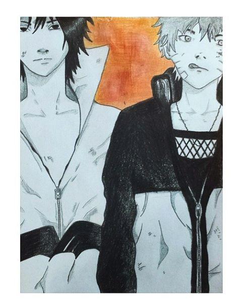 Sasuke&Naruto - made by me