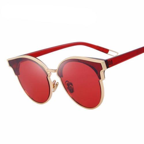 Designer Cat Eye Sunglasses for Women Luxury Sunglasses Classic Shades Eyewear
