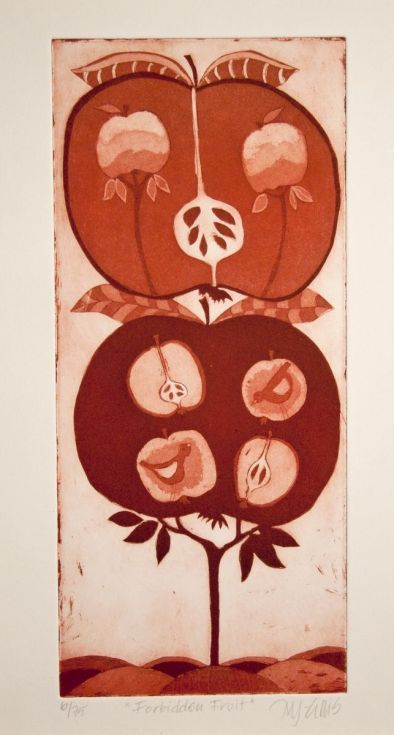 Buy Forbidden Fruit, aquatint etching, Etching / Engraving by Mariann Johansen-Ellis on Artfinder. Discover thousands of other original paintings, prints, sculptures and photography from independent artists.