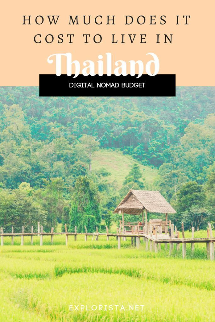 How much does it cost to live in Thailand for a month? | Digital