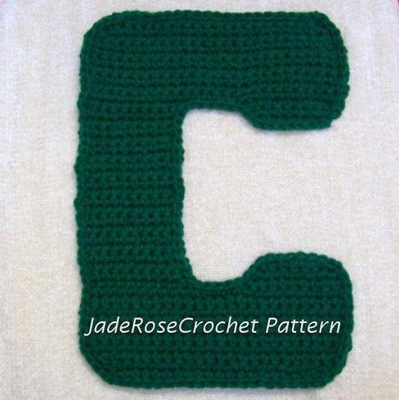 Free Crochet Alphabet Pillow Patterns Pakbit For