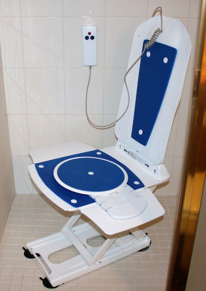Bathmaster Deltis Reclining Bath Lift Shower Seat Handicapped ...