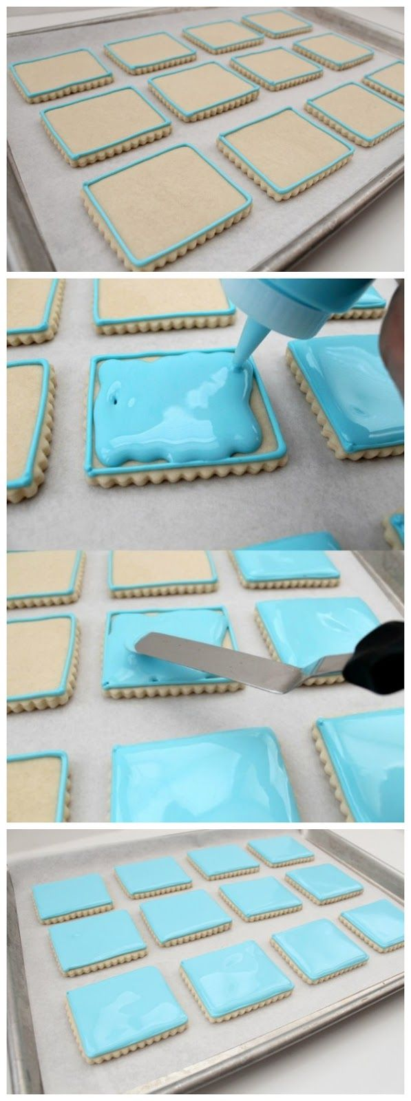 Outlining and Flooding Cookies with Royal Icing