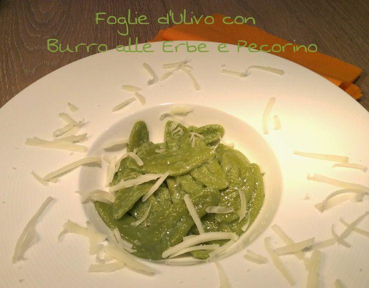 Cucinando tra le nuvole: Foglie d'Ulivo con Burro alle Erbette e Pecorino