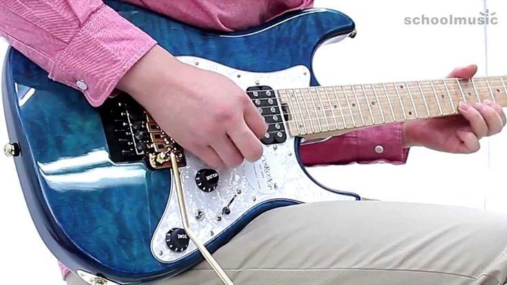 Corona CST 500FR Electric Guitar