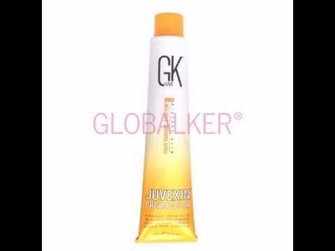 Global Keratin Cream Color 100ml. GK Hair Juvexin sklep warszawa gloalker - YouTube