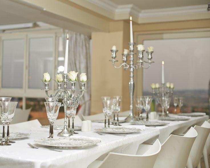 Classic Silver Table Decor!