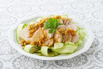 雲白肉(ウンパイロウ)(ゆで豚の料理バリエーション)