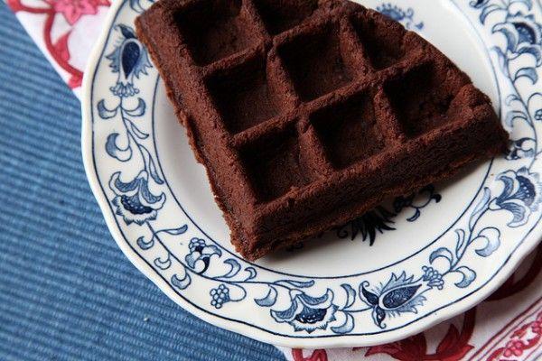 waffle brownie!