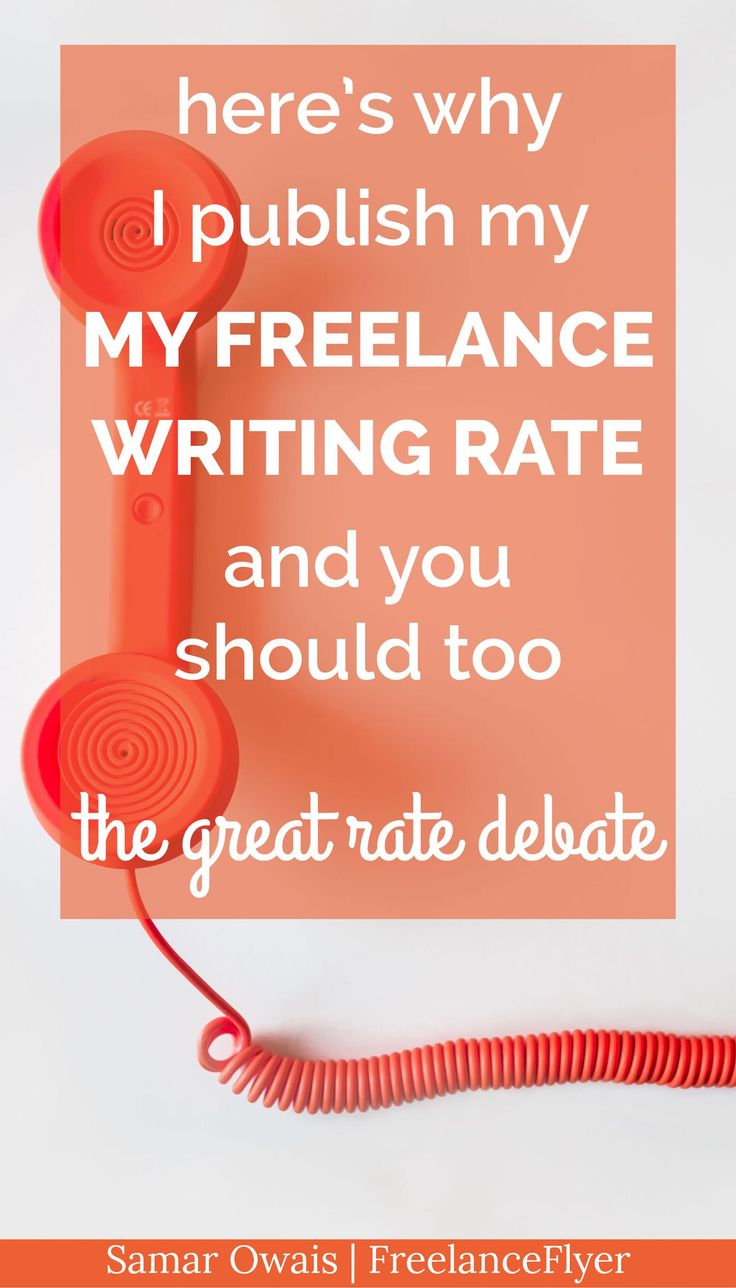 Ghostwriting services rates