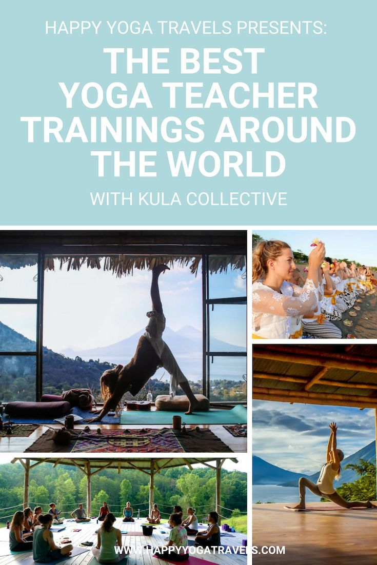 Highly Recommended Yoga Teacher Trainings Around The World For Example In Bali Guatemala Or Costa Yoga Teacher Training Bali Yoga Teacher Training Happy Yoga