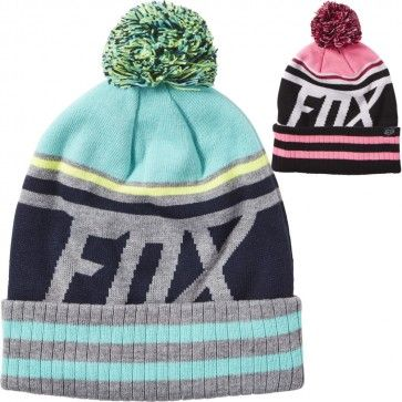 Fox Racing Dissipate Womens Acrylic Hats Caps Winter Motocross Beanies