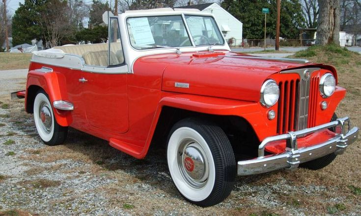 Willys+Cars | 1949 Willys Overland Jeepster Convertible