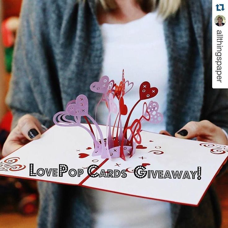 A #Repost from our darling friend @allthingspaper - she's giving away Lovepops! Get to her profile ASAP  #lovepop
