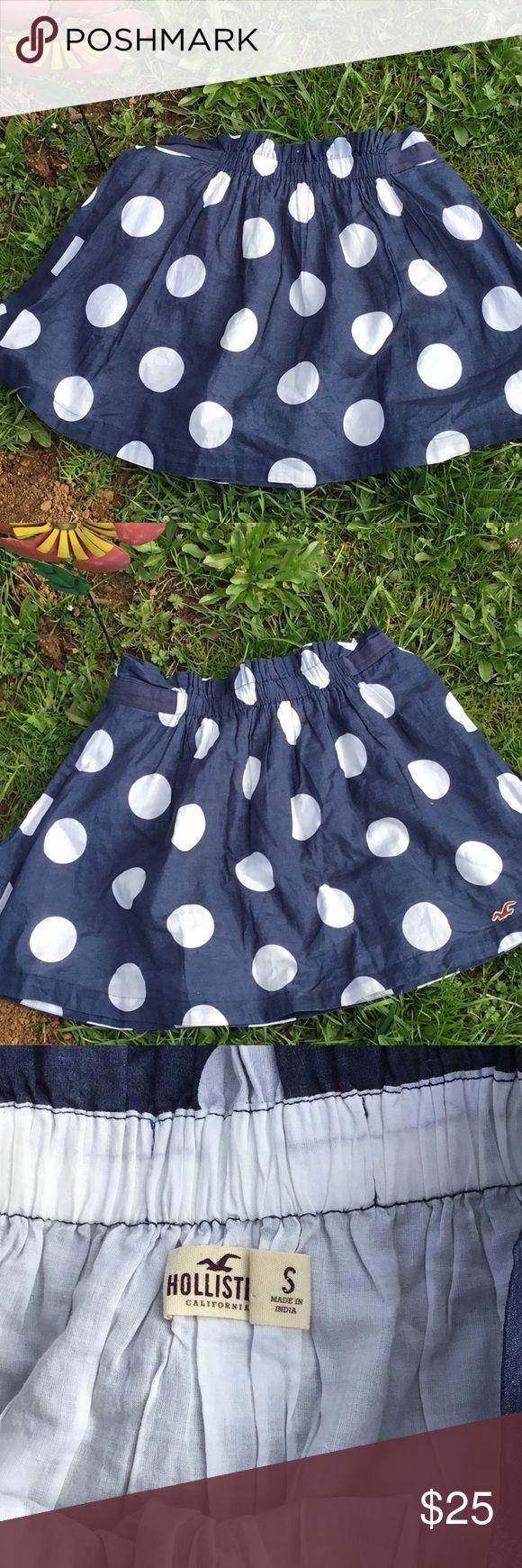 Hollister skirt Hollister polka dot skirt Hollister Skirts Mini