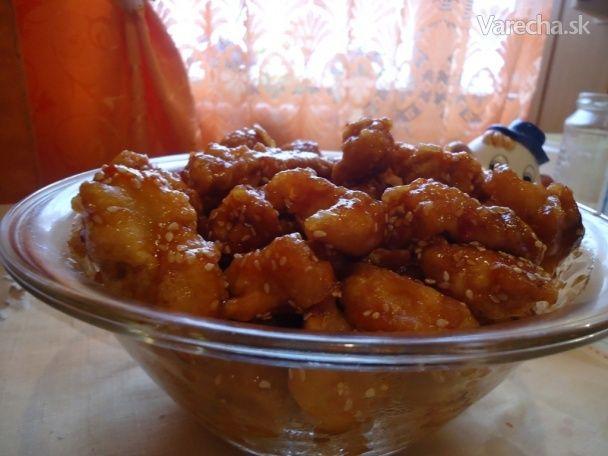 Kuracie kúsky po čínsky - Recept