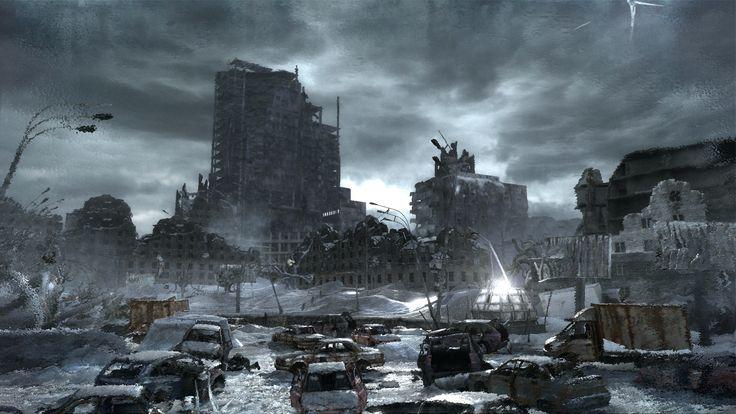 frozen apocalypse city