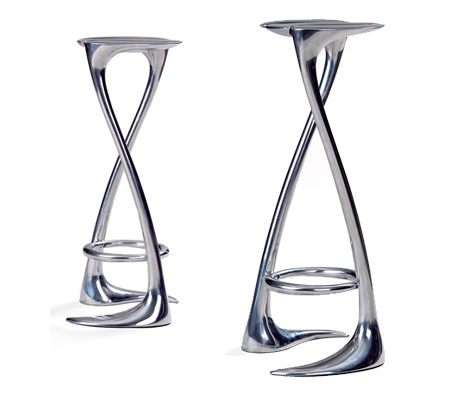 Pretty much the coolest bar stool ever
