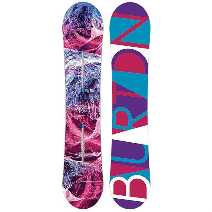 Burton - Feelgood Flying V Snowboard - Women's 2017