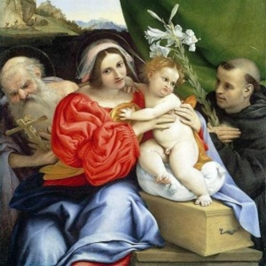an analysis of the painting madonna and child with angels and saints anthony of padua and nicolas of Catholicsaintsinfo this site has information on topics with patron saints, and profiles of those saints profiles have portraits, biographical information.